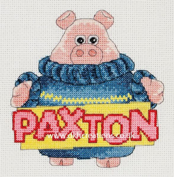 Timmy Time Paxon Cross Stitch Kit